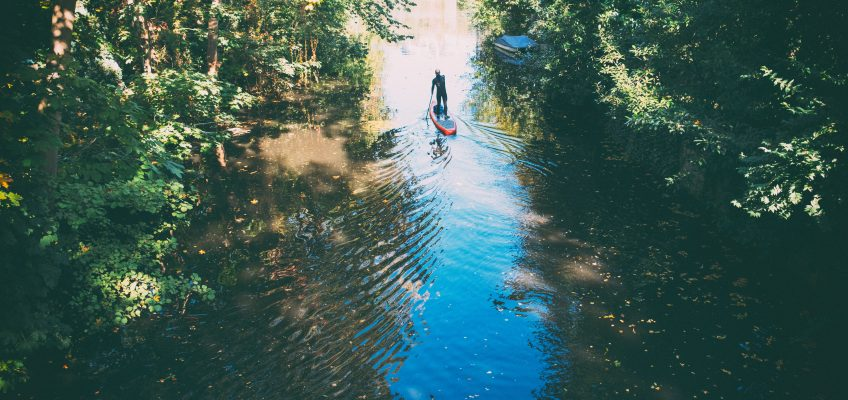 Tips for Paddleboarding on a River or Stream