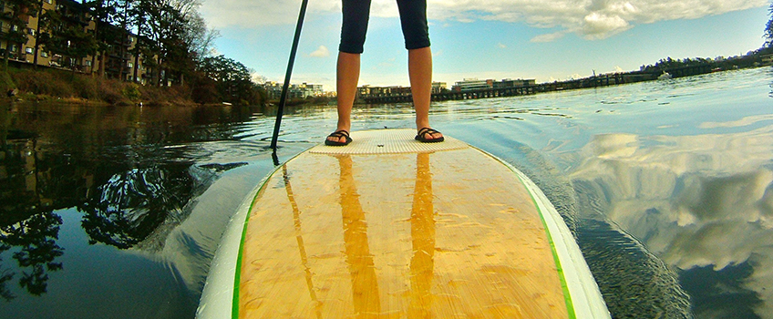 A Beginner's Guide to Stand Up Paddle Boarding – Part 3: Getting on the Board